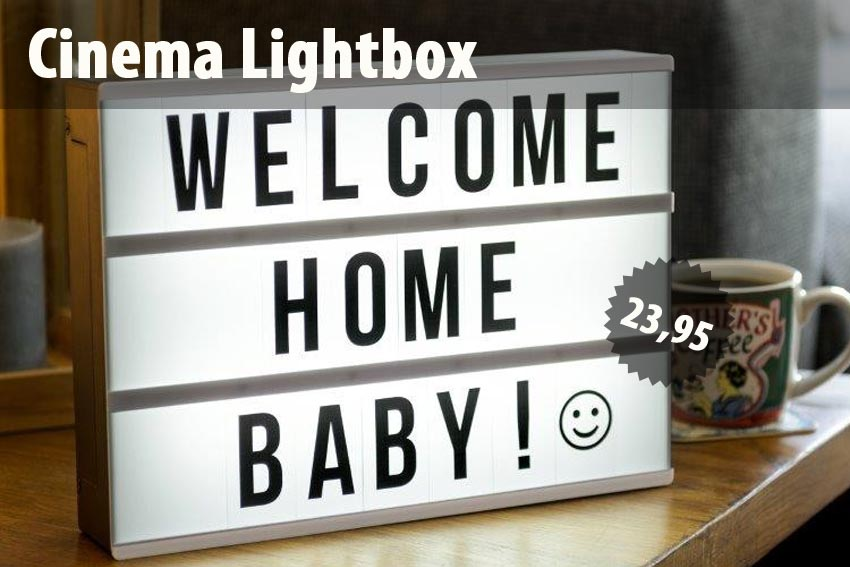 Die Cinema Lightbox (groß)