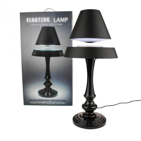 led lampe mit schwebendem schirm online kaufen. Black Bedroom Furniture Sets. Home Design Ideas