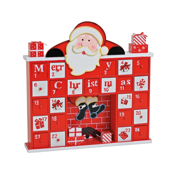 weihnachtsmann adventskalender online kaufen. Black Bedroom Furniture Sets. Home Design Ideas