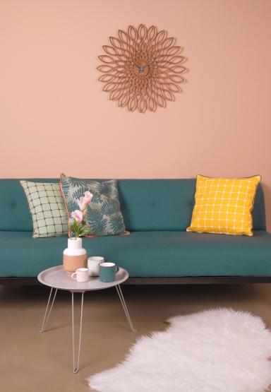 modernes kissen mit fliesen muster. Black Bedroom Furniture Sets. Home Design Ideas