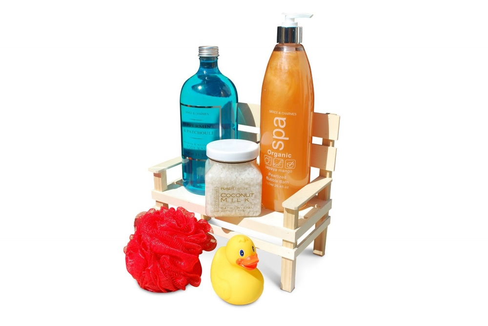 Geschenkset - Pure Pleasure Day Spa VIP Badeset...