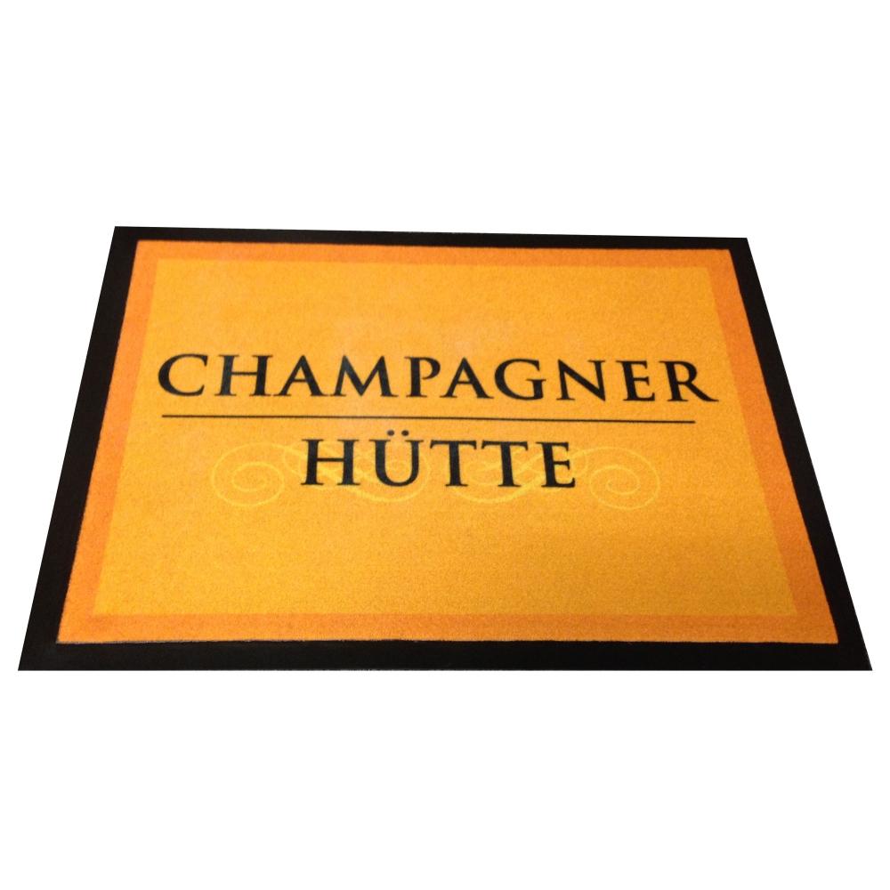 Fußmatte Champagnerhütte