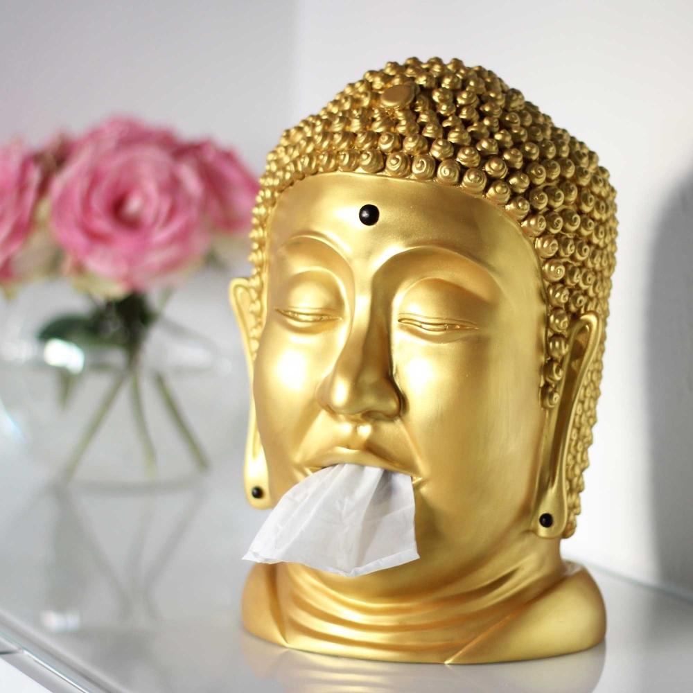 Taschentuchspender Buddha - Verschiedene Versionen