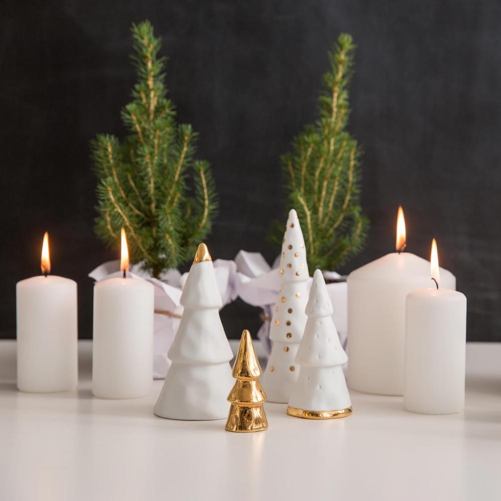 Weihnachtswald im 4-teiligen Set von räder