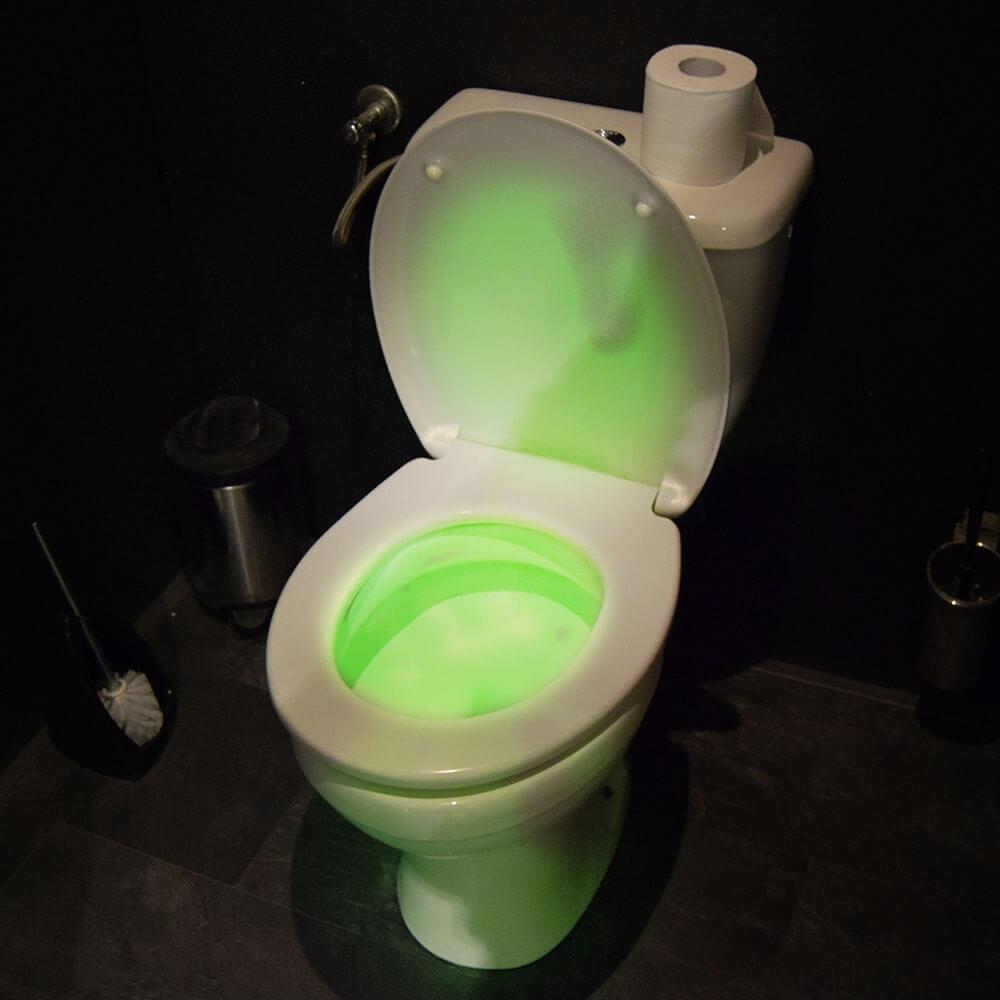 WC LED Licht 8 Farben mit Bewegungssensor