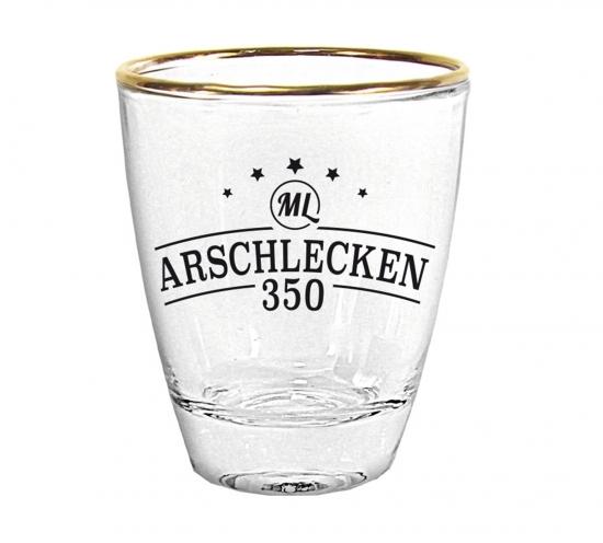 Arschlecken 350 Schnapsglas 2 cl