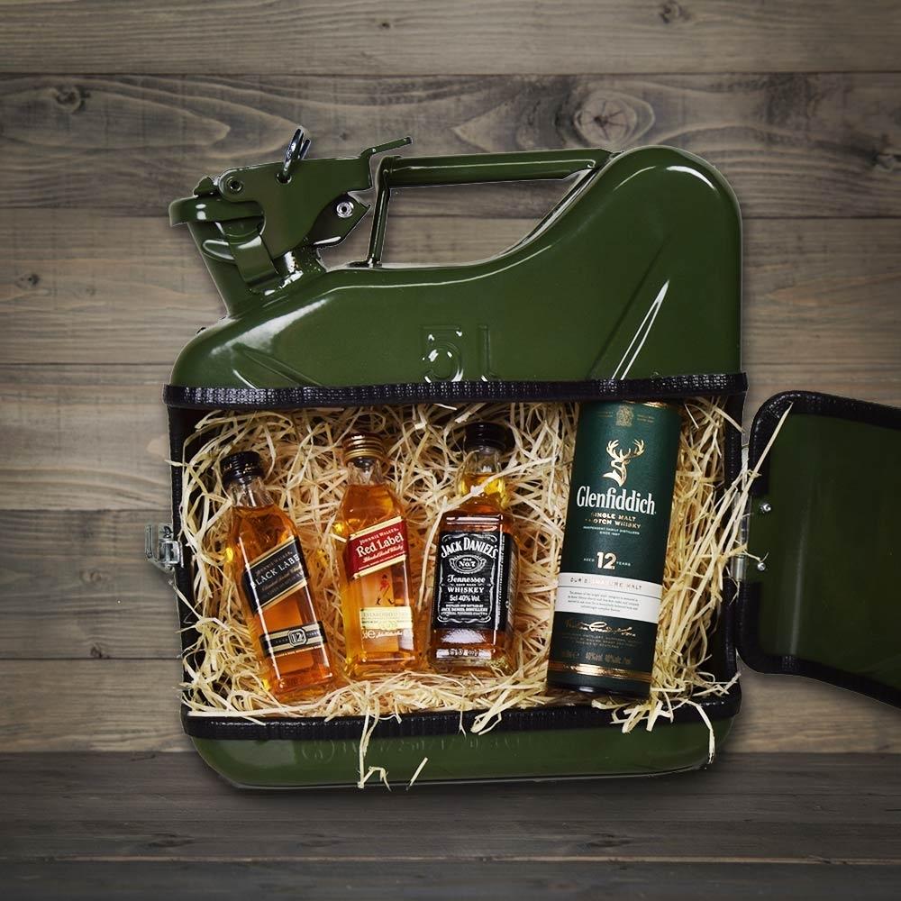 JerryCan Kanister als mobile Whisky-Bar - Originelle Whiskey Geschenke