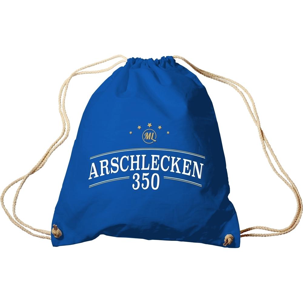 Turnbeutel Arschlecken 350