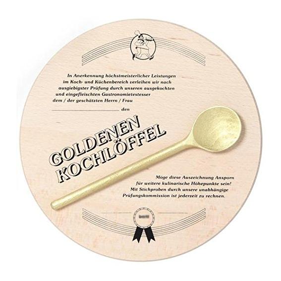 Auszeichnung - Goldener Kochlöffel