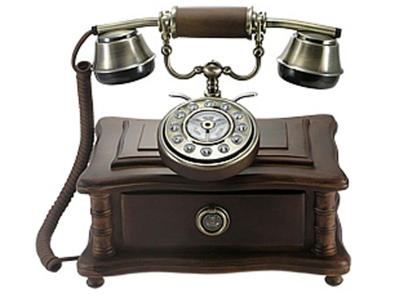 Das 1920 Old Fashion Telefon