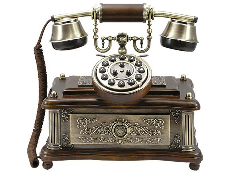 Das Old Fashion Nostalgie Telefon 1903