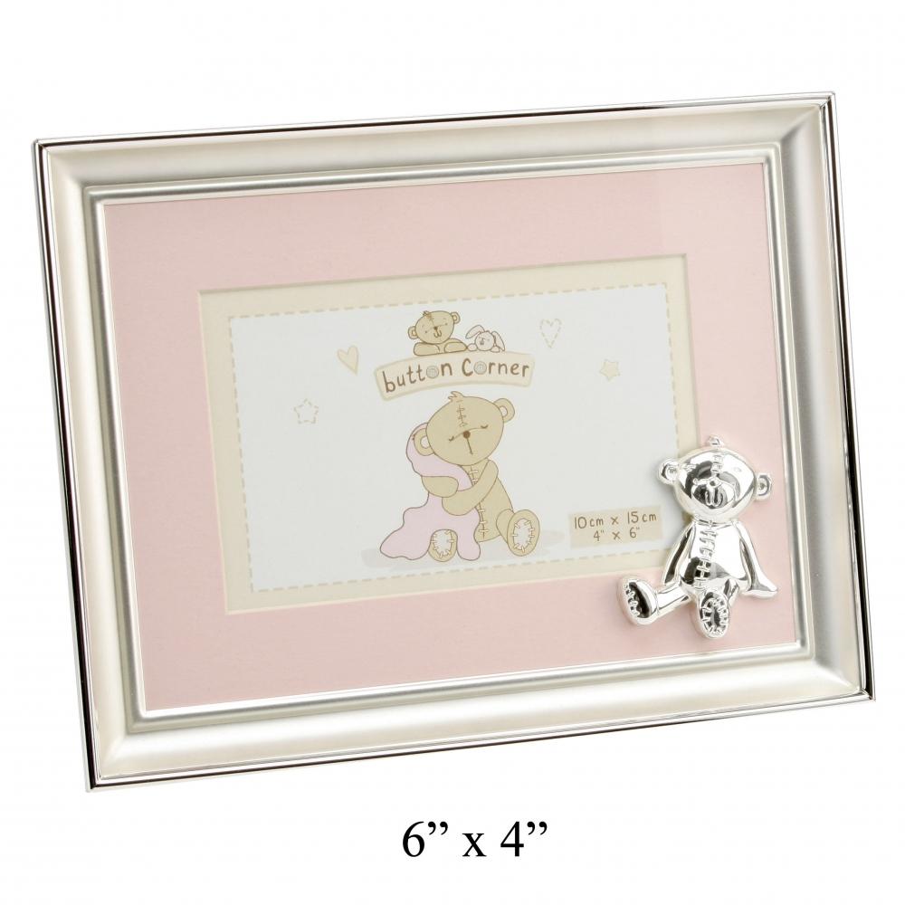 der edle bilderrahmen hinter glas mit b rchen in rosa. Black Bedroom Furniture Sets. Home Design Ideas