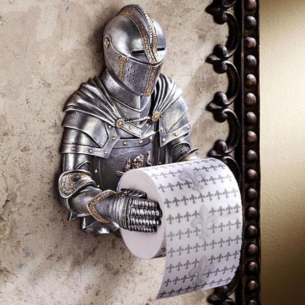 Der Toilettenpapierhalter im Ritter Design