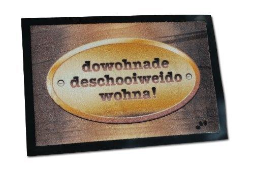 Die Bayer Fussmatte - Dowohnadedeschooiweidowohna