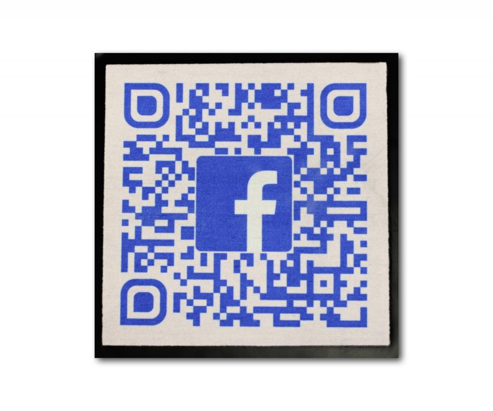 Facebook Fußmatte