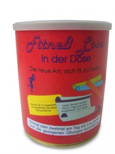 Fitness Lose in der Dose - broschei