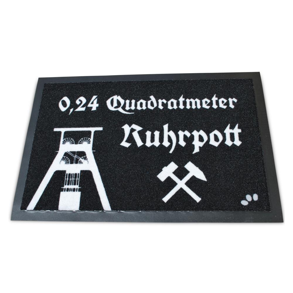 Fußmatte - 0,24 Quadratmeter Ruhrpott
