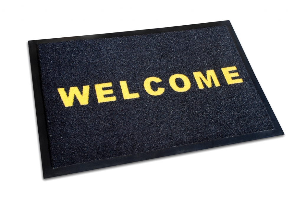 Fussmatte ´´Welcome´´
