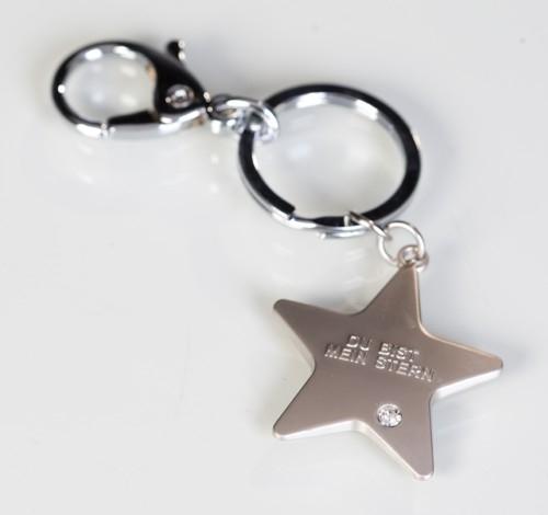 Schlüsselanhänger Du bist mein Stern