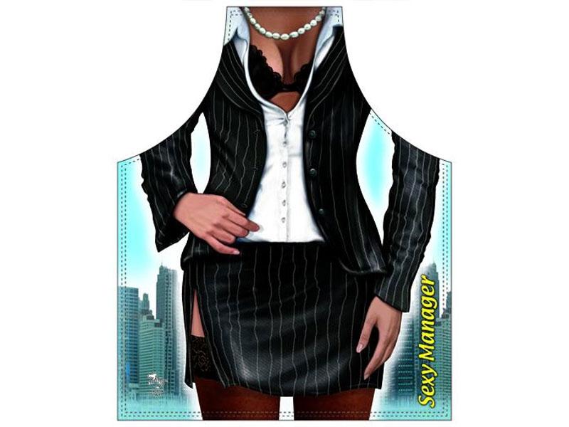 Schürze Sexy Business Frau - broschei