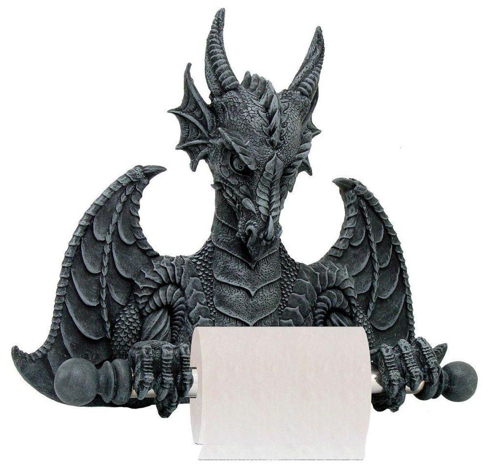 Toilettenpapierhalter Drache