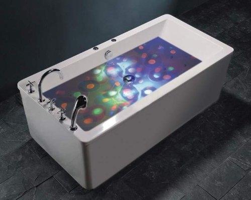 Underwater Lightshow Lichttherapie
