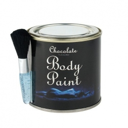 Chocolate Body Paint 200g - Dose mit Pinsel